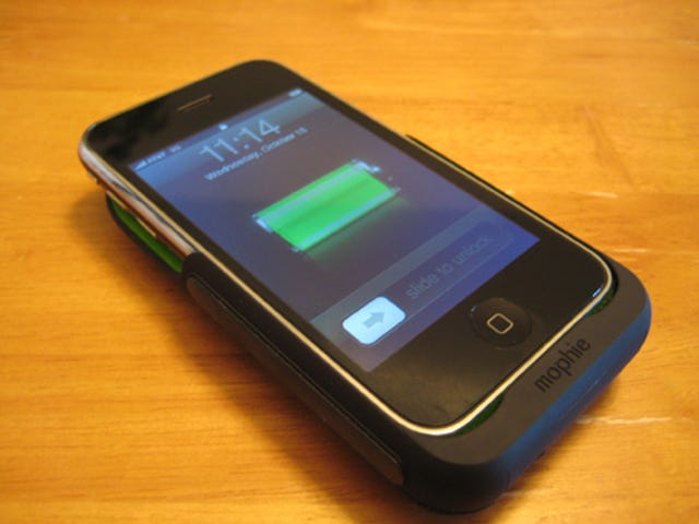 Mophie Juice Pack for iPhone 3G Lightning Review: It Doubles the Power