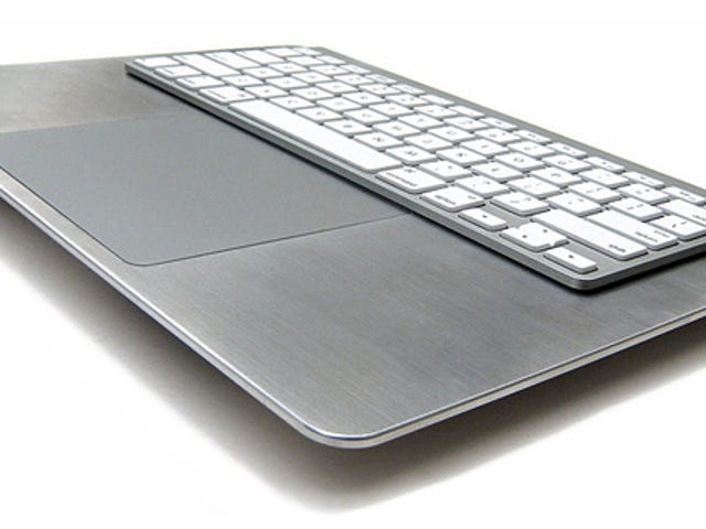 A Stylish (Yet Pricey) Way to Use Apple Keyboards and Magic Trackpads