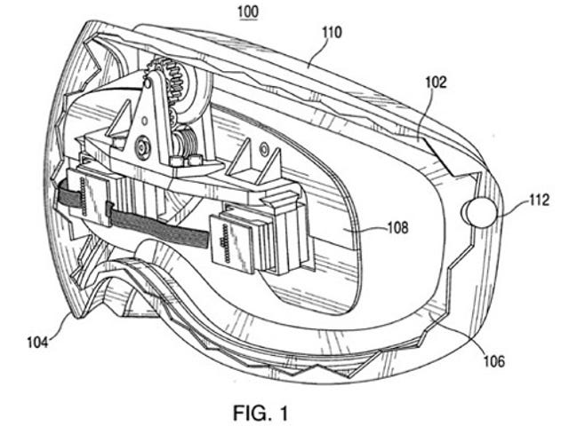 Apple Patents Head-Tracking Auditorium-Effect Wearable Display