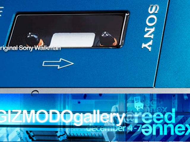 At Gizmodo Gallery: The Original Sony Walkman