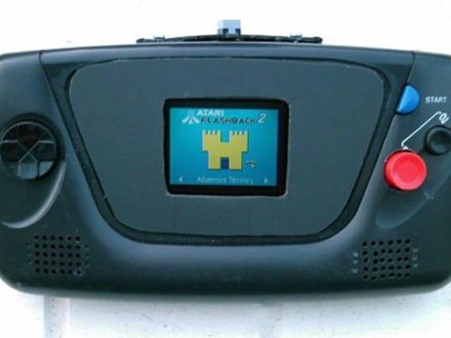Atari 2600 Crammed Into Sega Game Gear Is Wonderfully Backwards Mod