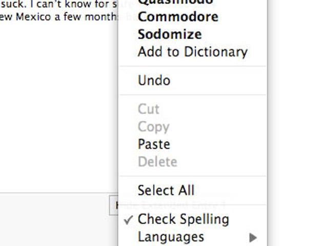"Firefox's Spellchecker Has Four Words for ""Gizmodo"""