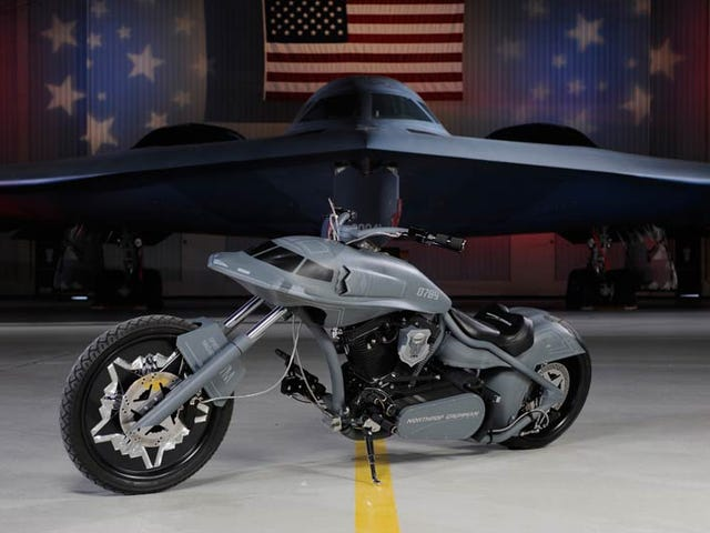 Stealth Bomber: Cool As a Plane, Really, Really, Really Stupid as a Motorcycle