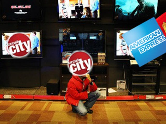 If You Get Screwed By Busted Gear at Circuit City, American Express Might Save You