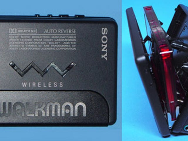Retromodo: Wireless Portable Music Player? Welcome to Sony, Circa 1988