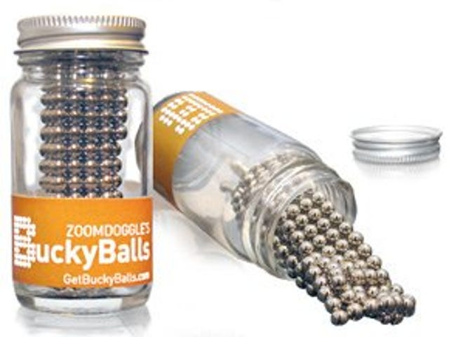 Bucky Balls Are Like Silly Putty Made with Rare-Earth Magnets
