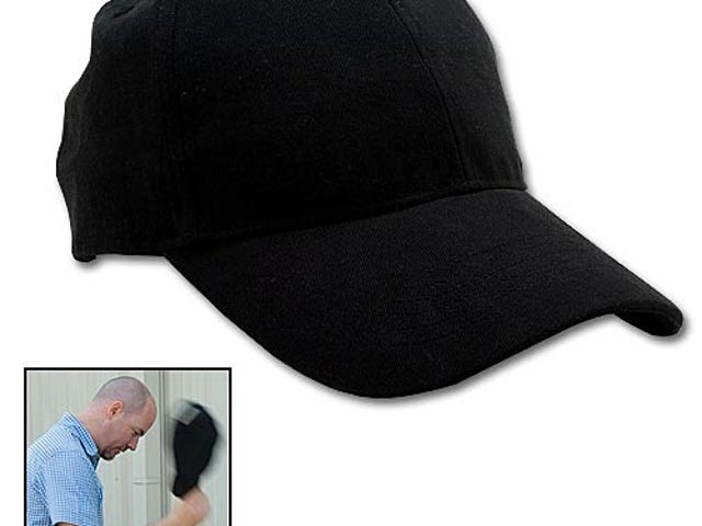 Sap Cap Packs a Blackjack Into a Black Hat