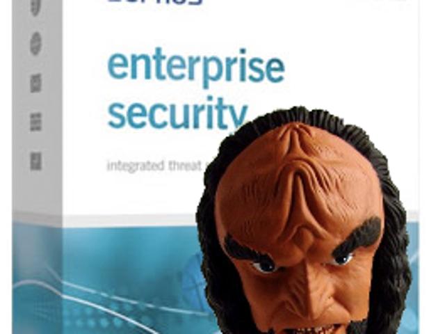 Klingon Anti-Virus Software Detects Romulan Activity
