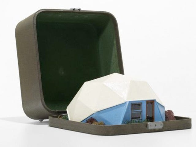 In 1960, Traveling Salesmen Were Selling Bucky Fuller's Dome Houses From a Suitcase