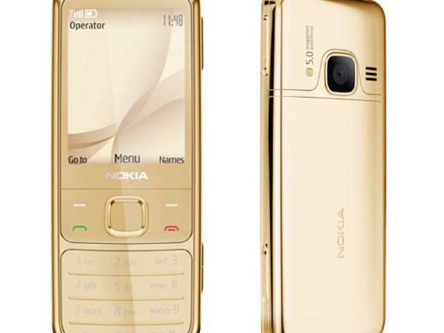 Nokia Taunts Us With Its 6700 Classic in 18-Carat Gold