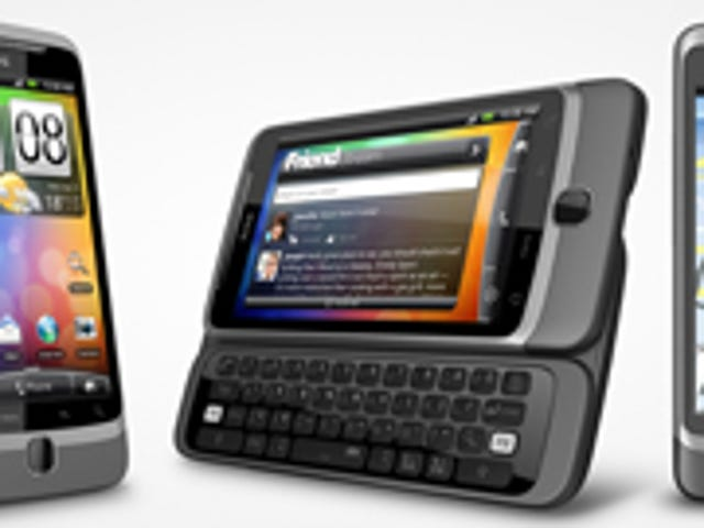 When and Where Can You Buy the HTC Desire HD and Z Phones?