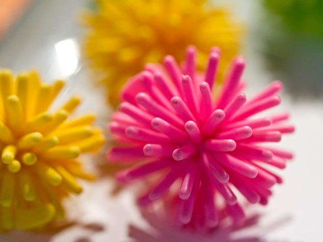 These Koosh Ball Bullets Make Getting Shot Look Friendly