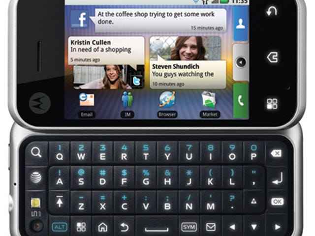 AT&T Finally Gets Android: Motorola Backflip Arrives March 7