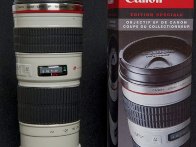 Canon Lens Thermos Now Available for Preorder