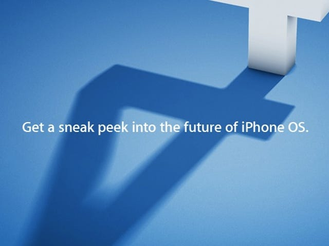 Apple iPhone OS 4 Revealed on April 8