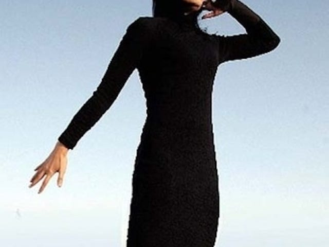 Cellular Dress Begs to be Deathgripped