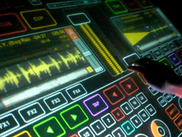 A Glimpse of the Multi-Touch DJing of the Future
