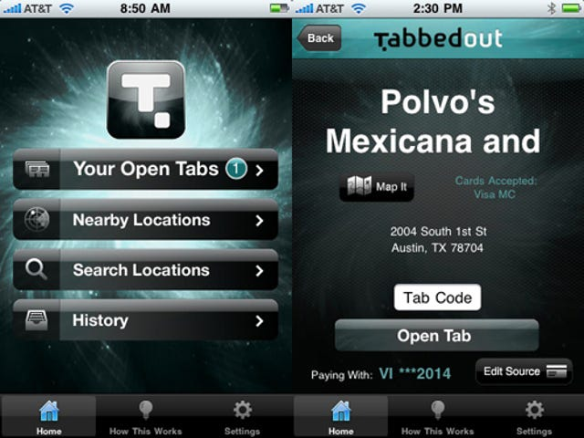 Pay Your Bar Tab With An iPhone App