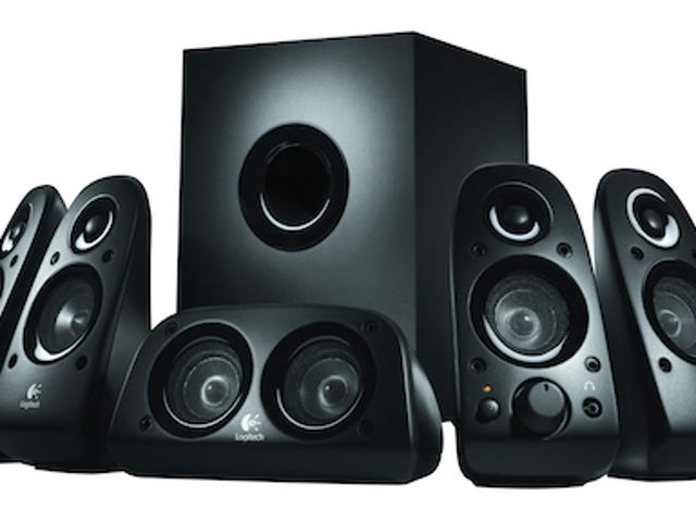 Logitech Z506 Surround Sound Speaker System Is Only $99