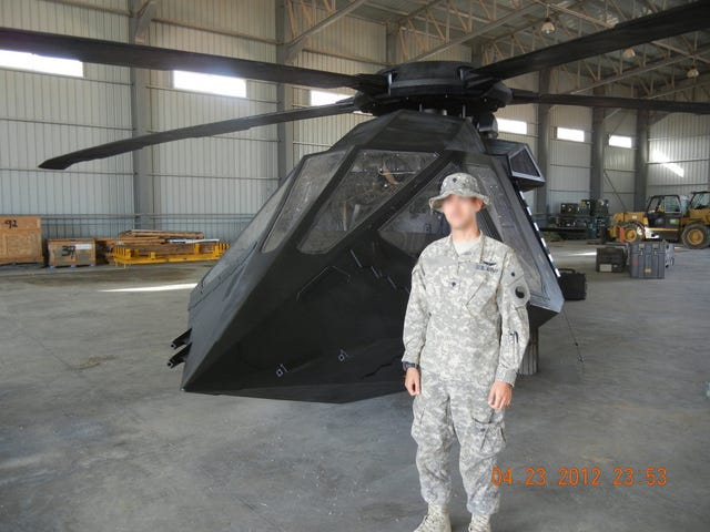 Stealth MH-60 Black Hawk as Used in the Bin Laden Raid
