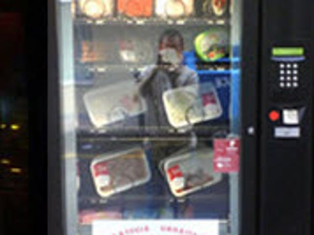 Yes, a Meat Vending Machine Exists