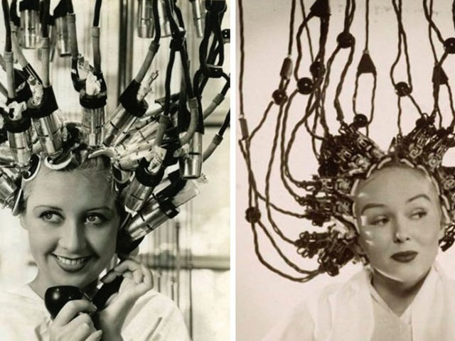 Hair Dryers Used to Look Like Alien Mind-Control Helmets