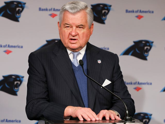 "Panthers Owner Was At A ""Closed"" Council Meeting On Stadium Funding"