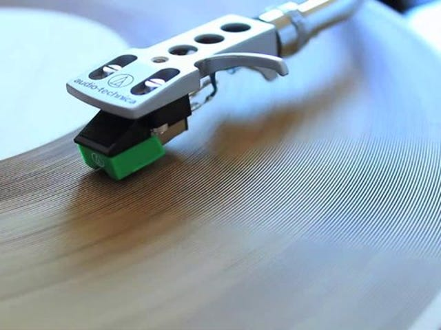 What does a record made out of wood sound like?
