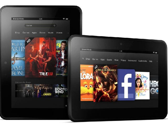 Get $20 off a Kindle Fire HD through Mother's Day, May 12th