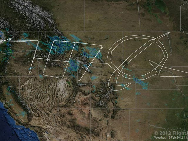 Boeing 787 Turns America Into Giant Etch-A-Sketch