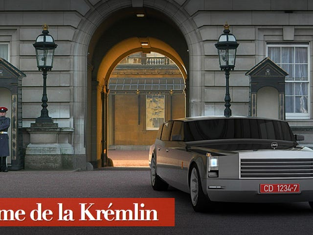 Russia's New Presidential Limo Is A Retro-Futuristic Despot's Dream