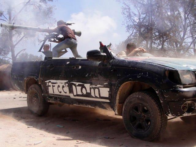 Even chopped pickup trucks may not help Libya's rebels win