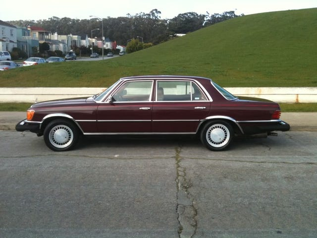 For $16,000, this Benz is a 6.9 on the reich-ter scale