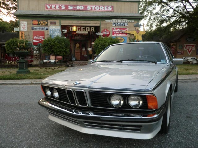 For $4,400, is this BMW 635CSI a Gute Fahrt?