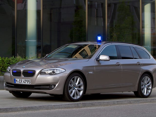 Captain Krug gets his man in a 5-series wagon