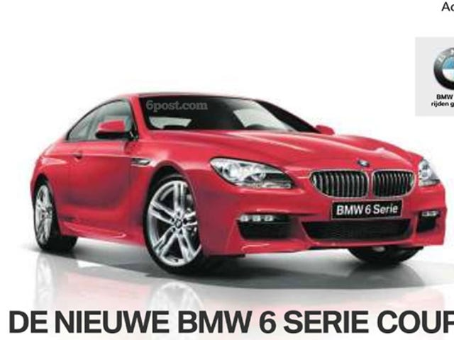New BMW 6-Series M-Sport gets a chin-job