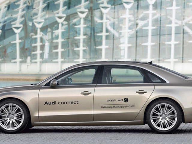 Audi plots wireless 4G broadband for its cars