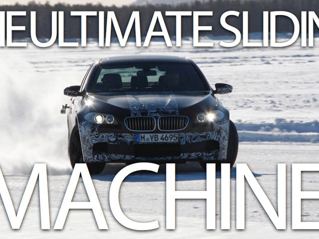 2012 BMW M5: First Drive... on ice