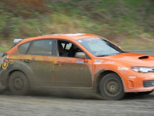 Learning the Scandinavian Flick at rally school