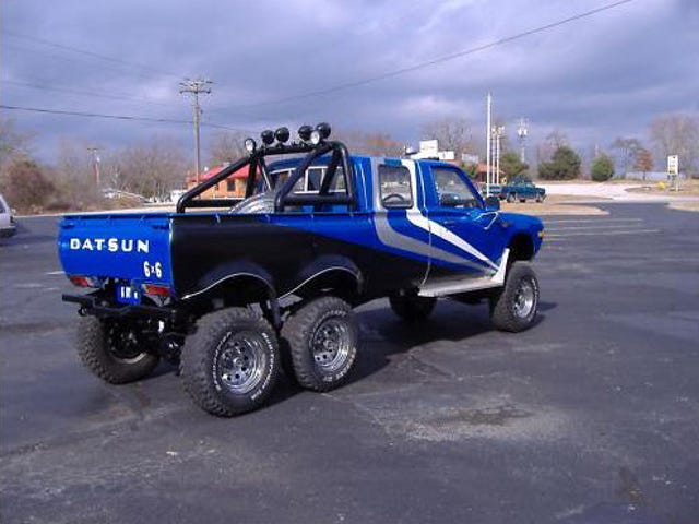The 6x6 Datsun Pickup Answers The Unanswerable Question