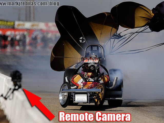 200 MPH Dragster vs. $10,000+ Camera Rig = Trouble