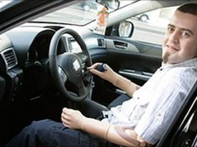 Bionic-Armed Driver in Unsurprising Car Crash. UPDATED