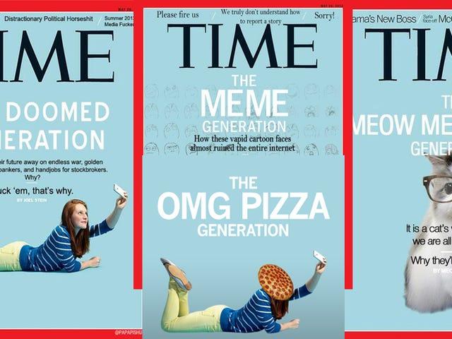 <em>Time</em>&#39;s Me Me Me Generation Is, Aptly, the Internet&#39;s New Favorite Meme