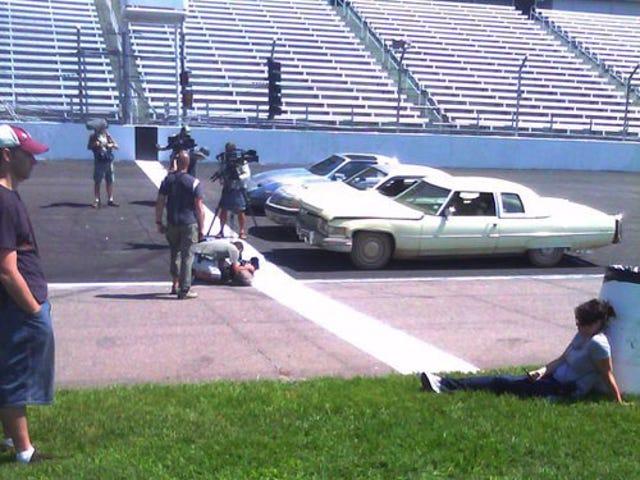 Top Gear USA Hosts Race Beaters
