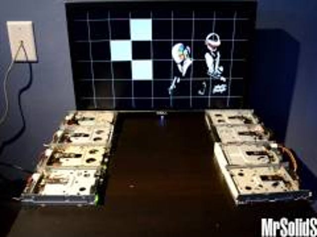 Floppy Drives Are Only Good for Playing Daft Punk Music Now