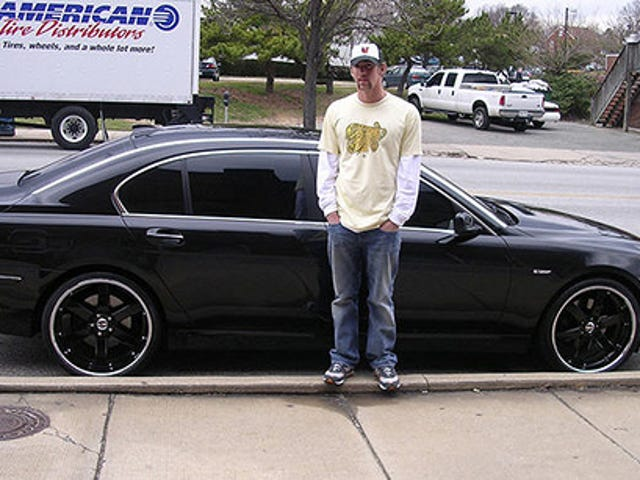 Michael Phelps Has Another Black Car, Stupid Hat