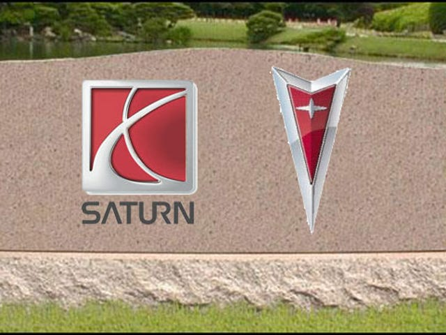 GM To Officially Kill Saturn Brand, Most Of Pontiac