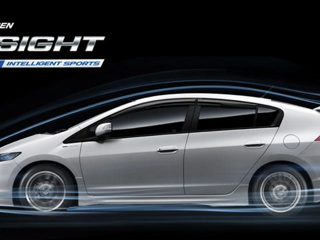 2010 Mugen Zero-Lift Honda Insight: Photos, Video And No Lift!