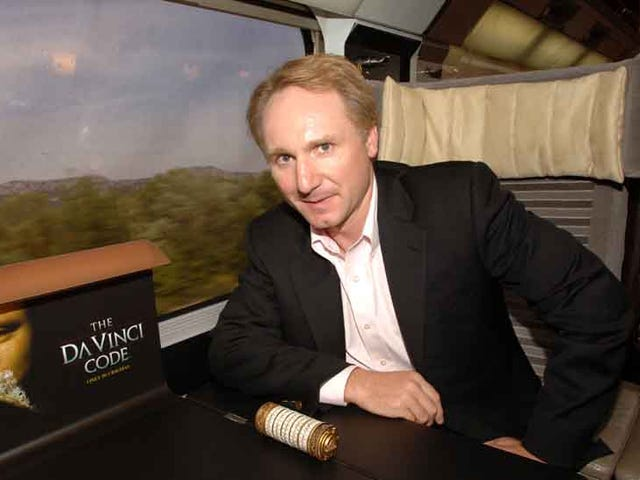 Listen to Author Dan Brown's Terrible Song About Phone Sex