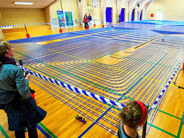 The World's Longest Lego Railway Includes 2.5 Miles Of Track